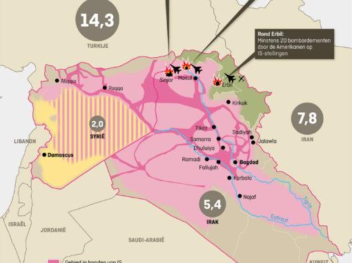 Elsevier Weekblad –  ISIS kaart