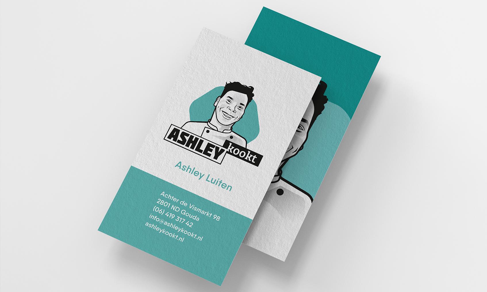 Visitekaartje Ashley Kookt!